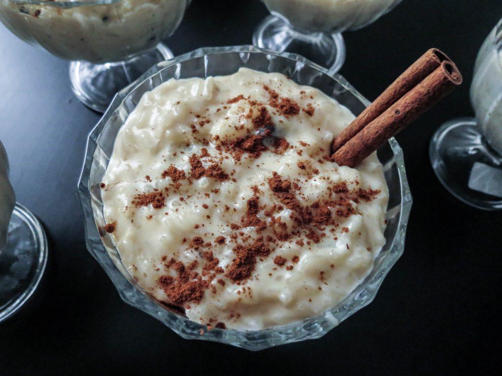 El arroz con leche otra comida boliviana