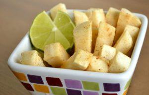 Comida ecuatoriana - Jicama