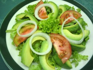 Comida ecuatorina - Ensalada mixta