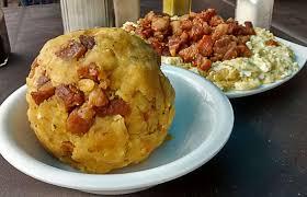 Comida ecuatoriana - Bola de verde