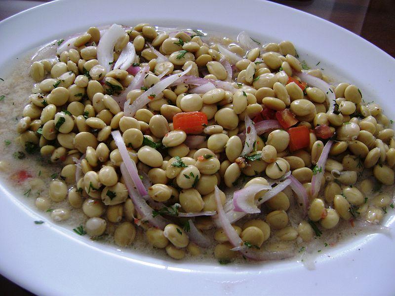 Comida ecuatoriana - Ceviche de chochos