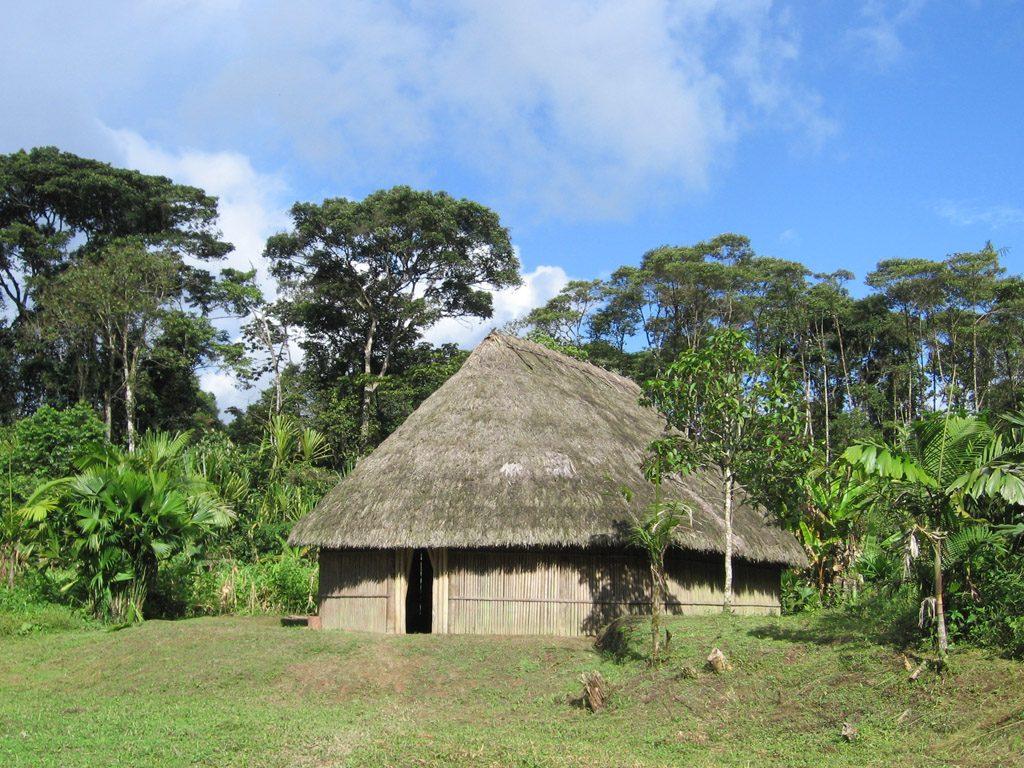 vivienda de la Cultura Machalilla