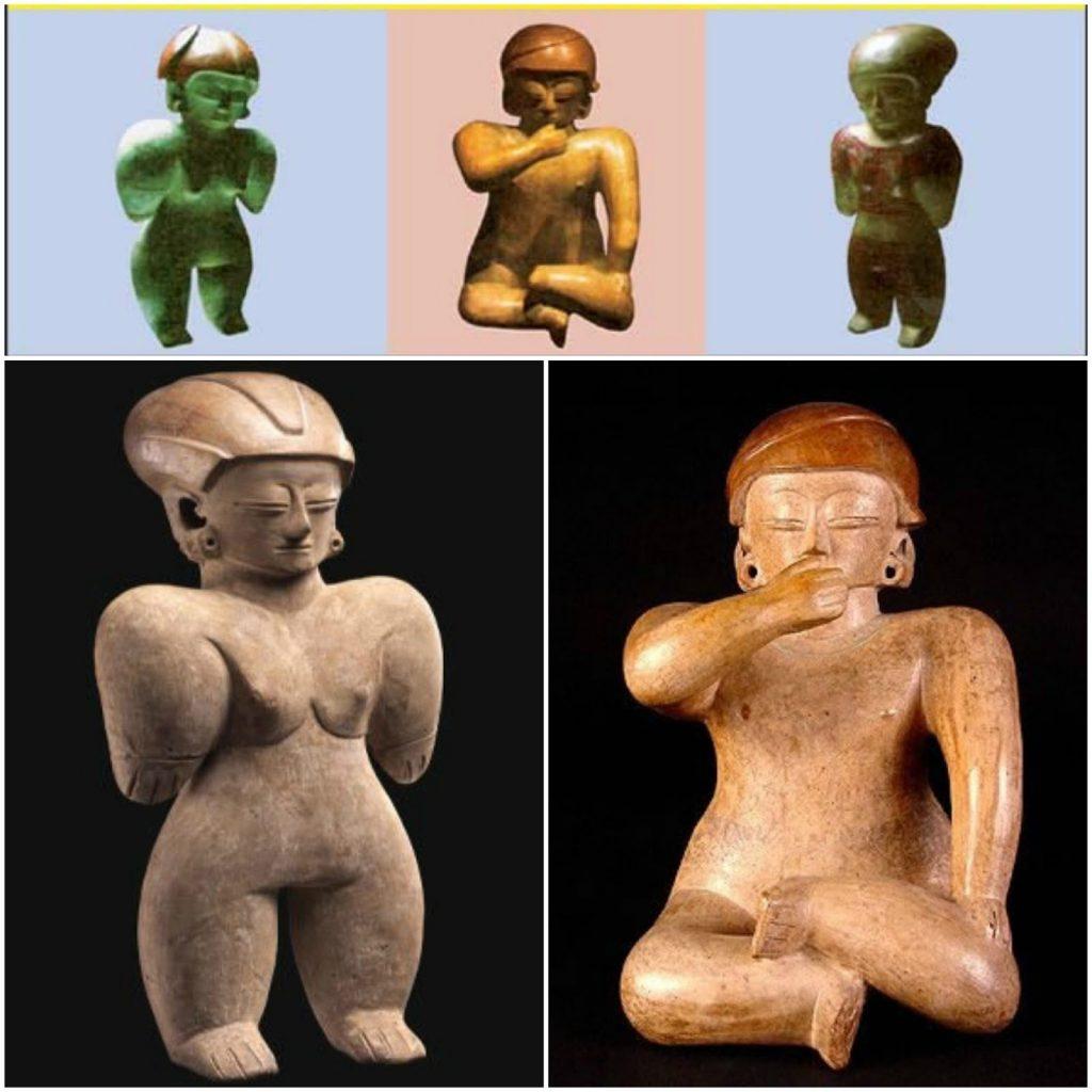 Figura femenina cultura machalilla