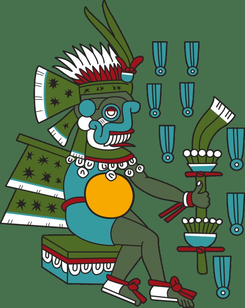 El Dios Tlaloc de la cultura tolteca