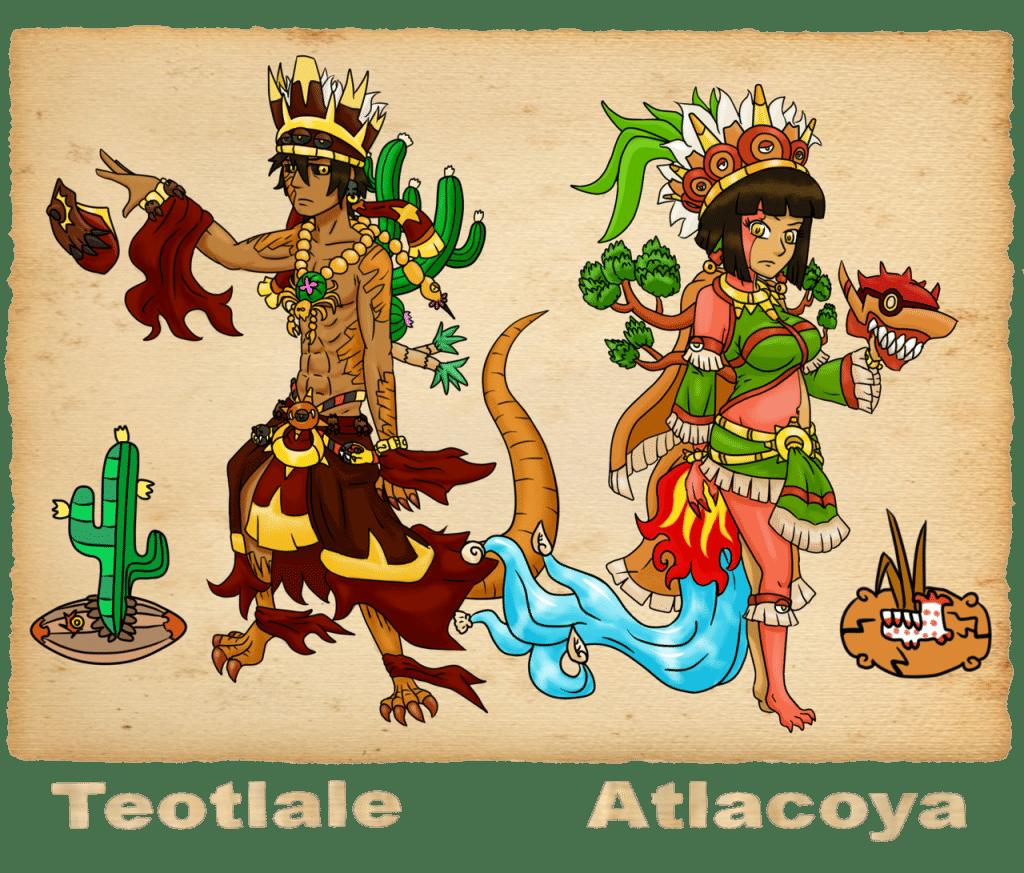 Dioses de la cultura tolteca