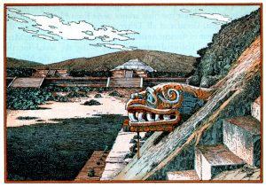 Pinturas de la cultura tolteca
