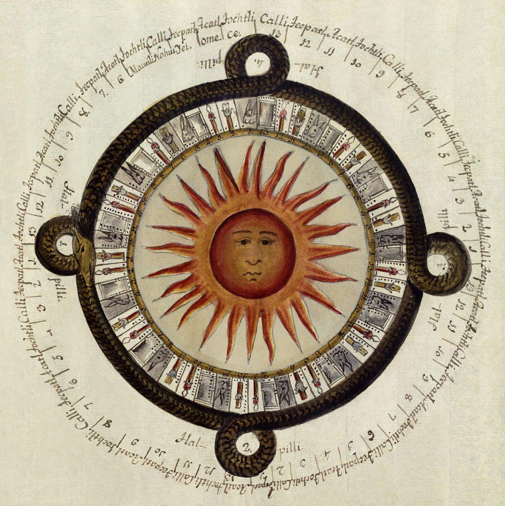 Calendario de la cultura tolteca