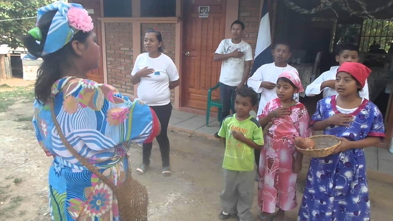 Los pech de la cultura de honduras