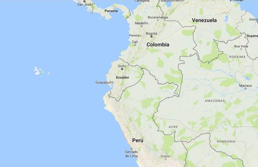 Etnias del ecuador - Límites geográficos