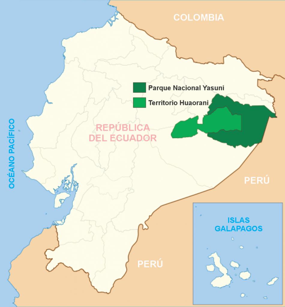 Etnias del Ecuador - Parque nacional Yasuni