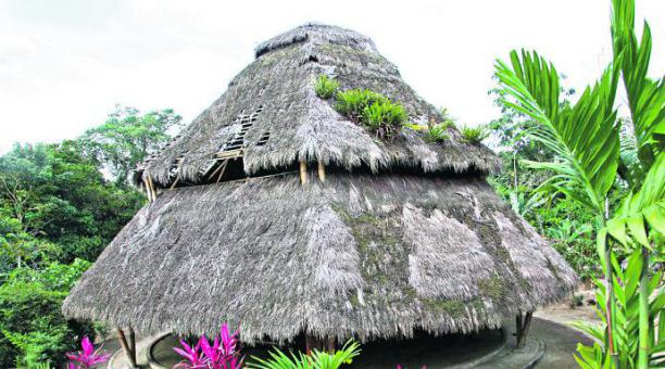 Etnias del Ecuador - Vivienda tsáchilas