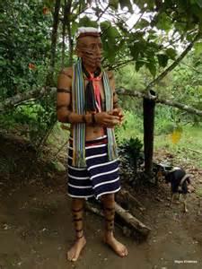 Etnias del Ecuador - Hombre tsáchilas
