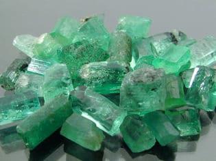 Los muiscas - Extracción de esmeraldas