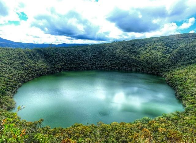Los muiscas - Laguna sagrada