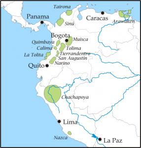 Los muiskas - Poblamiento de Colombia