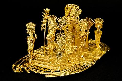 Los muiscas - Hombre de oro