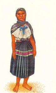 Vestimenta Nahuatl