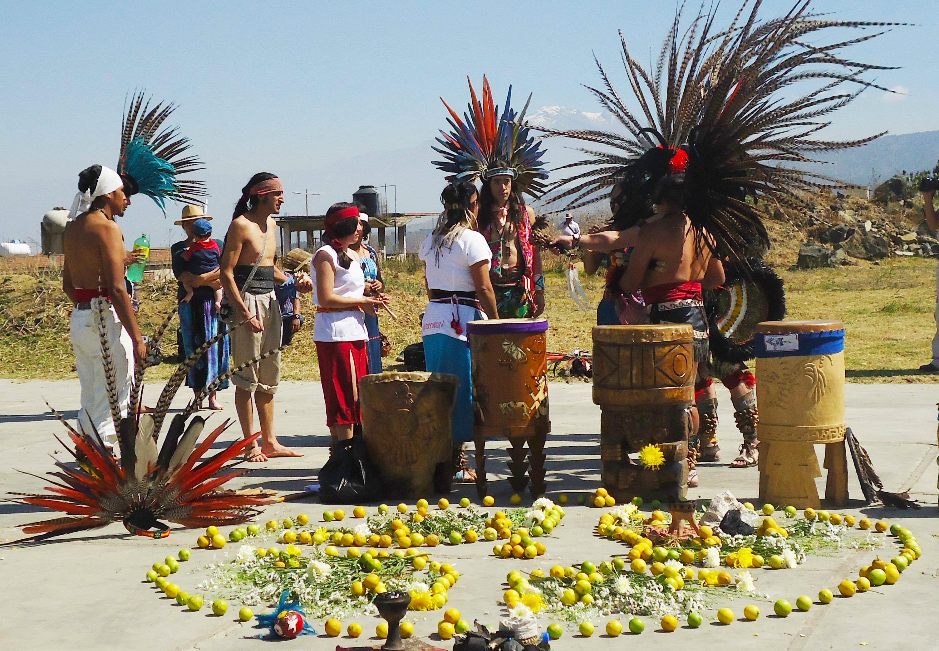 Fiestas Nahuatl