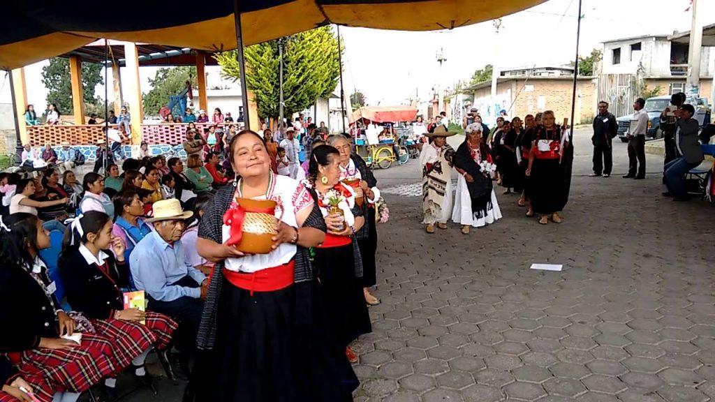 Evento de san Felipe de Jesus: Nahuatl