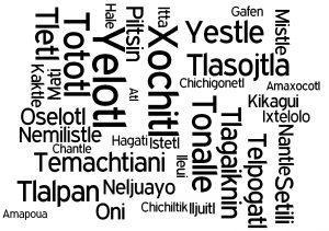 Palabras Nahuatl