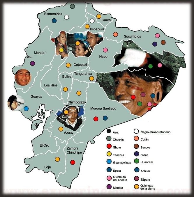 Shuar - Distribución geográfica