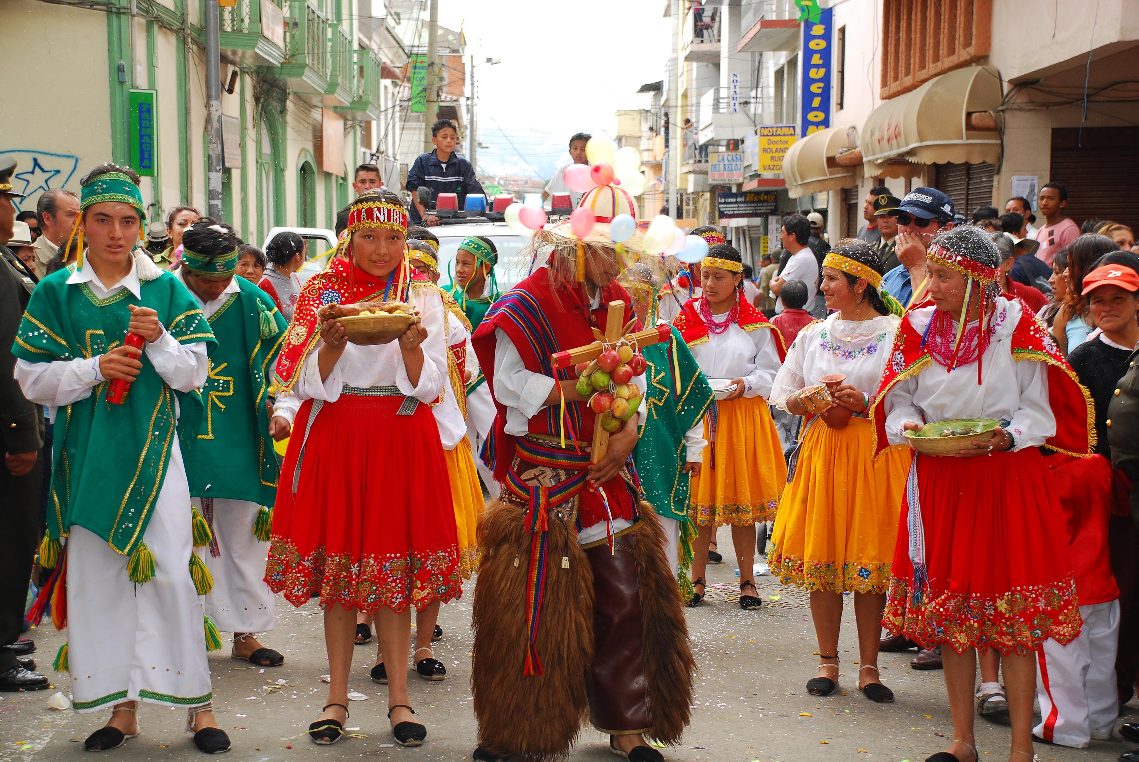 tradiciones del ecuador