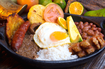comida tipica de Colombia