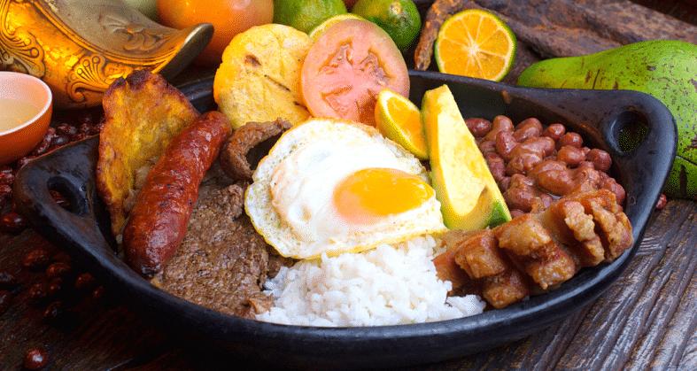 Comida tipica de colombia las recetas por regiones y for Comida tradicional definicion