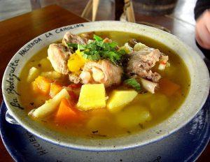 sancochos tipicos de Colombia