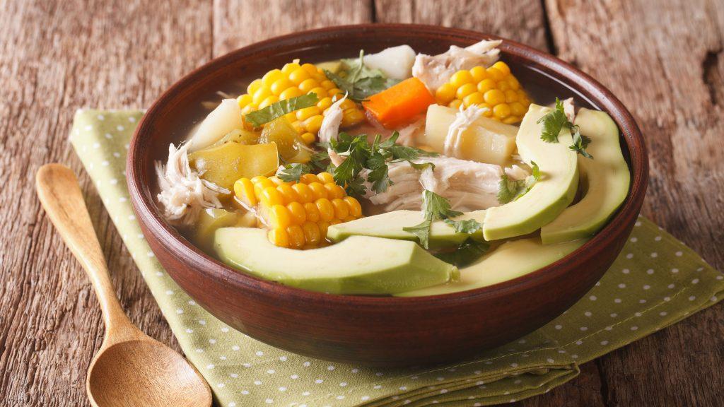comida tipica de colombia el ajiaco