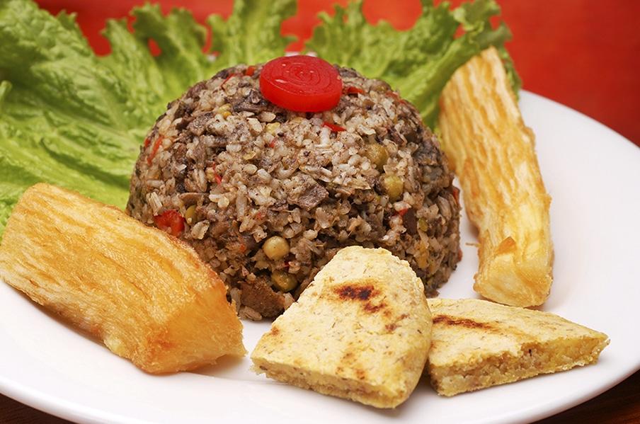 arroz tipico colombiano