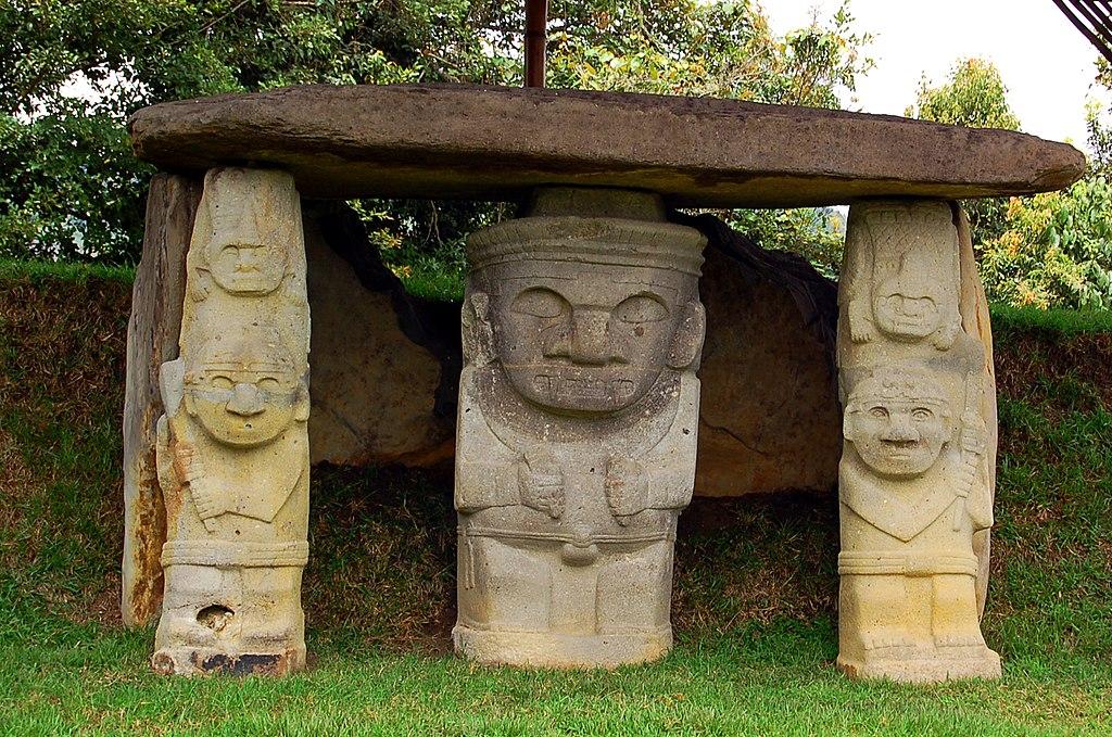 esculturas del arte precolmbino