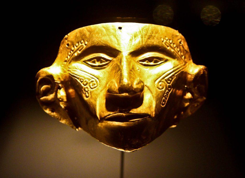mascaras de la cultura chibcha