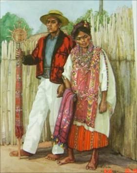Trajes típicos de Guatemala  origen 59db50e45a2