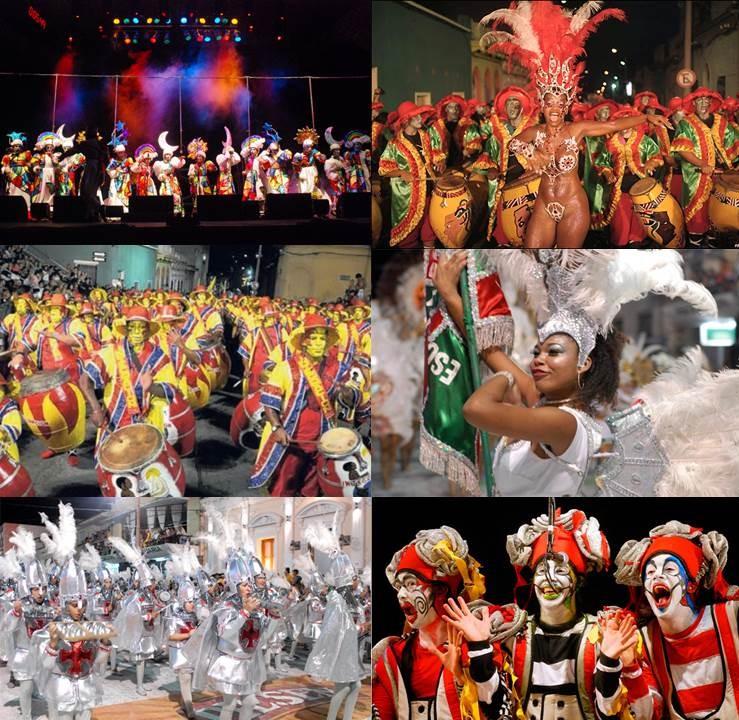 Carnaval uruguayo - Mosaico