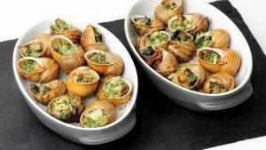 Comida Francesa Caracoles: