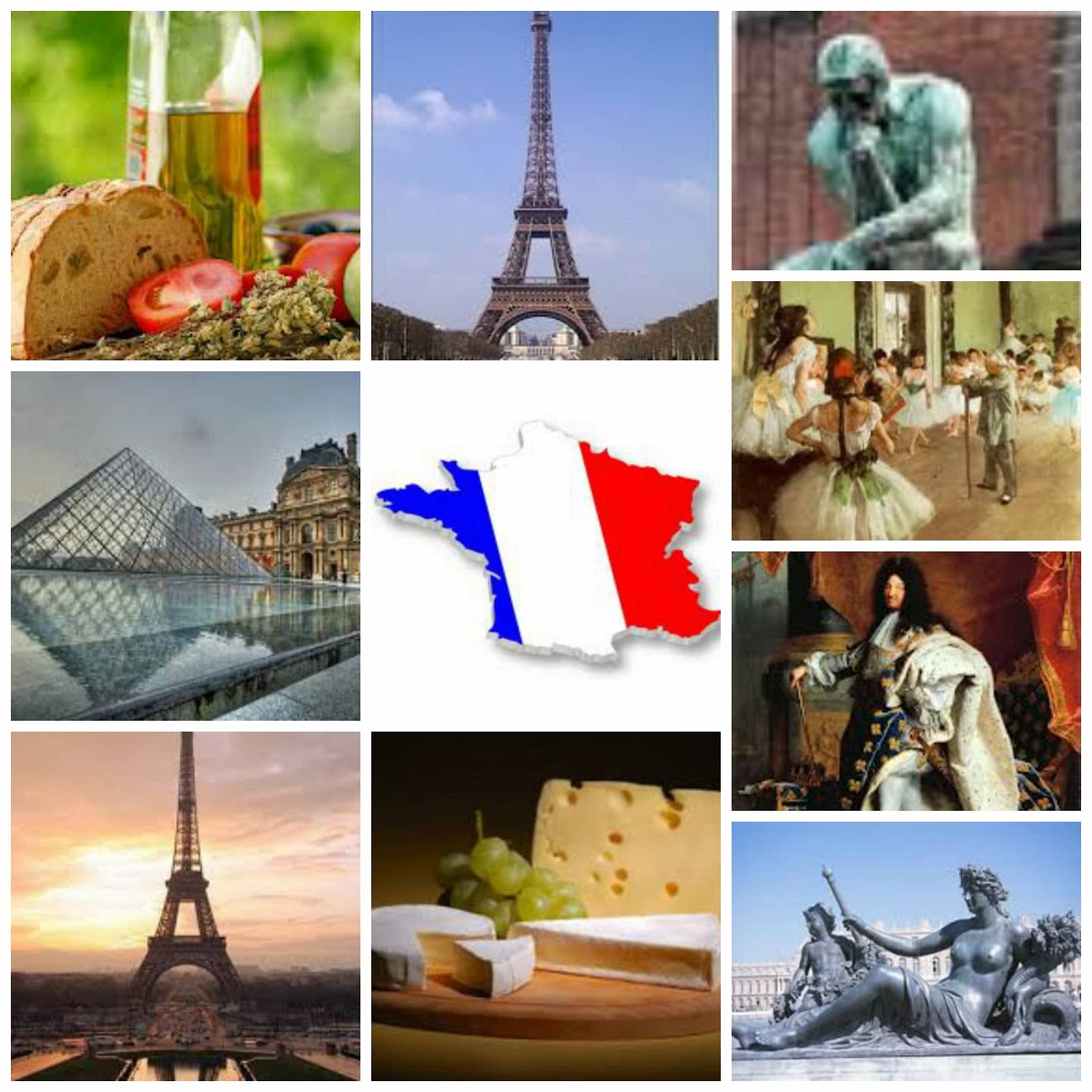 Costumbres y tradiciones de Francia: en bodas, navidad