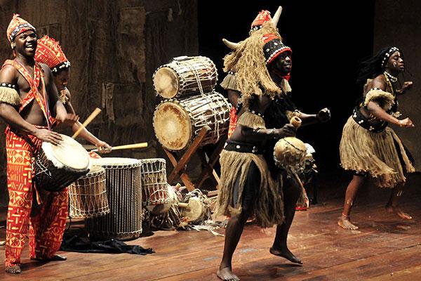 Música y Danza de la Cultura Africana: