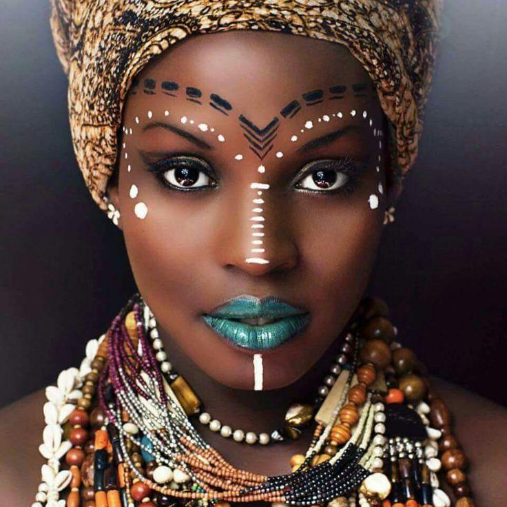 Maquillaje de la Cultura Africana: