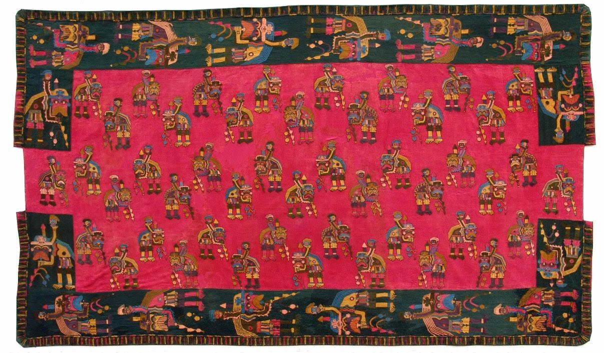 Cultura Chavin textiles