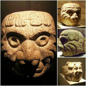 Cultura Chavin escultura