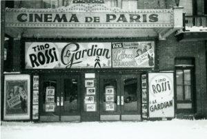 Cine de la Cultura Francesa - París: