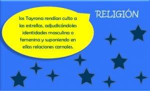 Religión de la Cultura Tairona: