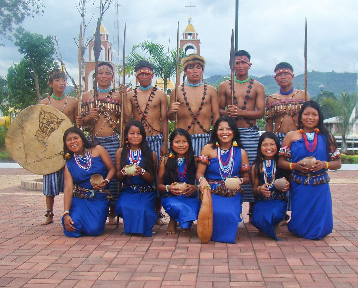 Culturas del Ecuador shuar