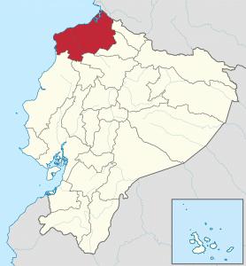 Ubicacion de las culturas del Ecuador