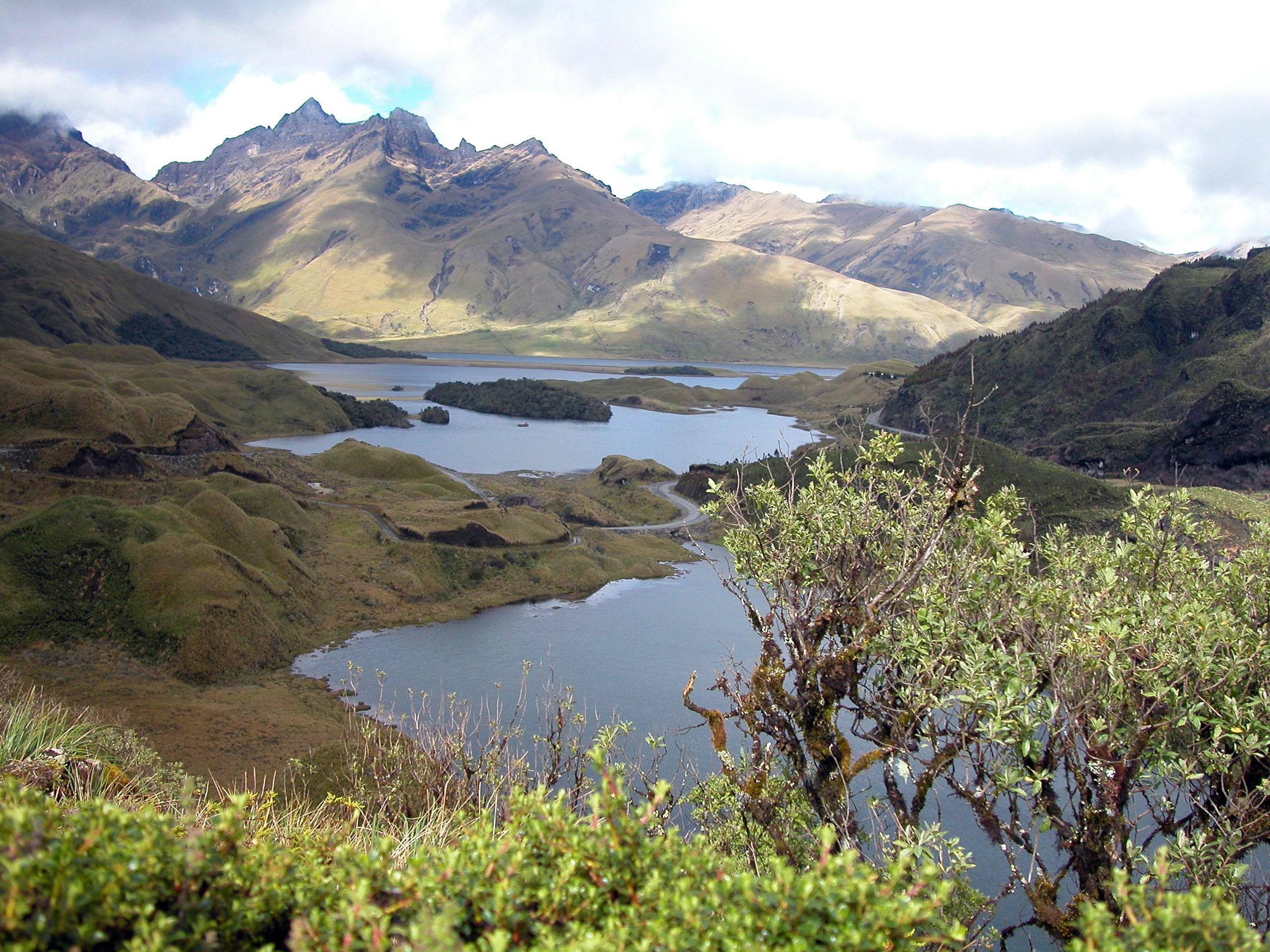 cultural del ecuador parque nacional sangay