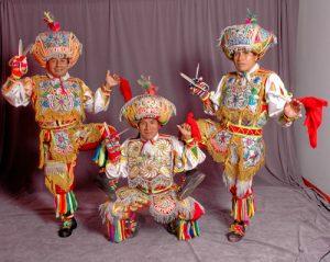 Vestimenta de la Danza de Tijeras: