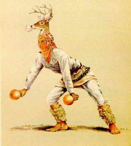 Vestuario de la Danza del Venado: