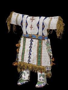 Vestimenta de los Indios Sioux: