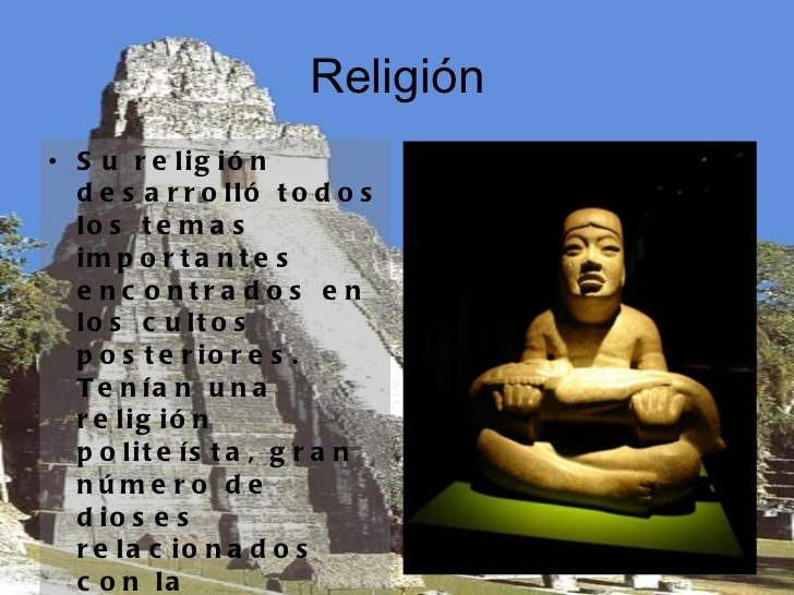 Religión de la Cultura Olmeca: